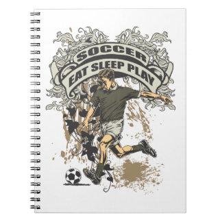 Eat, Sleep, Play Soccer Notebook