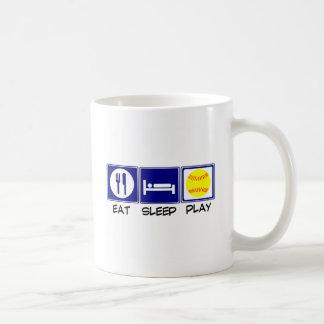 Eat, Sleep, Play Softball Mugs
