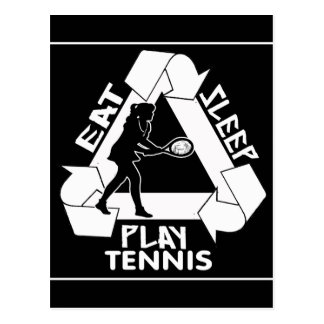 Eat Sleep Play TENNIS - Do It Again Postcard