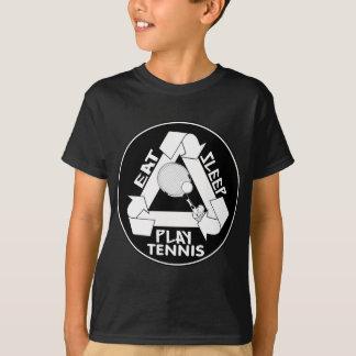 Eat Sleep Play TENNIS - Do It Again T-Shirt