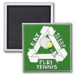 Eat Sleep PLAY TENNIS! Fridge Magnet