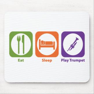 Eat Sleep Play Trumpet Mouse Pad