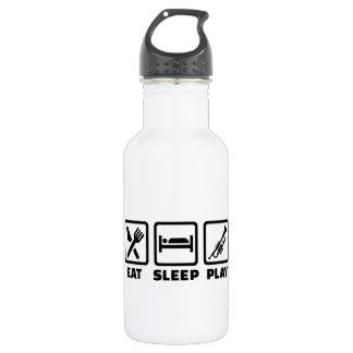 Eat Sleep Play Trumpet Stainless Steel Water Bottle