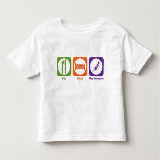 Eat Sleep Play Trumpet Toddler T-shirt
