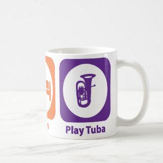 Eat Sleep Play Tuba Mug