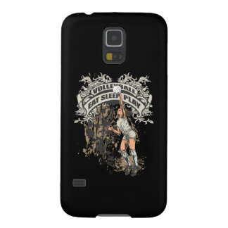 Eat, Sleep, Play Volleyball Galaxy S5 Cover