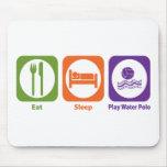 Eat Sleep Play Water Polo Mouse Mats