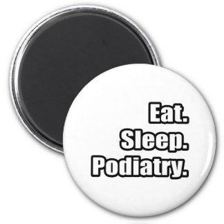 Eat Sleep Podiatry Magnet