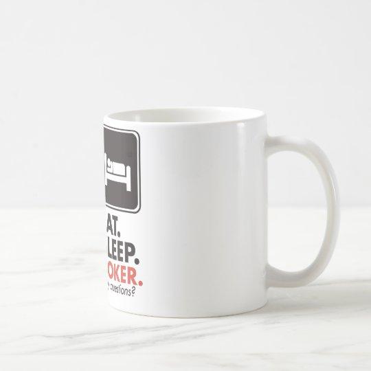 Eat Sleep Poker Coffee Mug
