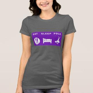 Eat Sleep Pole Ladies Tee