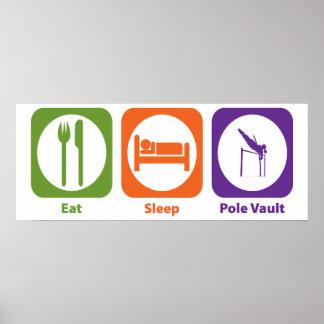 Eat Sleep Pole Vault Posters