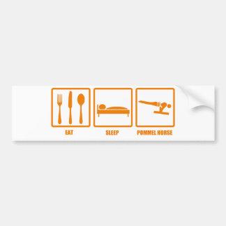 Eat Sleep Pommel Horse Bumper Stickers