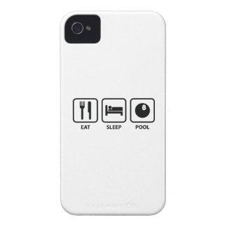 Eat Sleep Pool iPhone 4 Cover