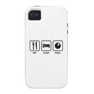 Eat Sleep Pool iPhone 4 Case