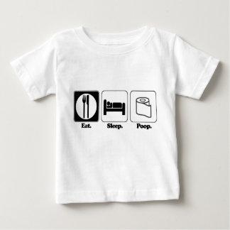 eat sleep poop baby T-Shirt