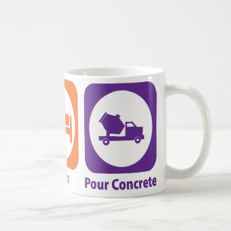 Eat Sleep Pour Concrete Coffee Mug