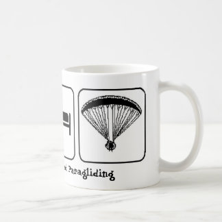 Eat, Sleep, Powered Paragliding Coffee Mug