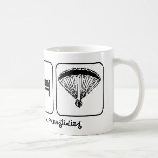 Eat Sleep Powered Paragliding Mug