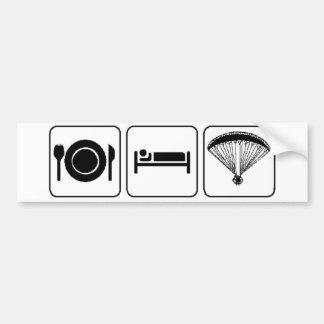 Eat, Sleep, PPG Bumper Sticker