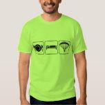 Eat, Sleep, PPG - front & back T-Shirt