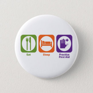 Eat Sleep Practice First Aid Button
