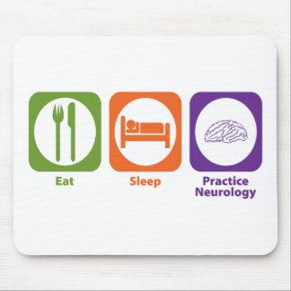 Eat Sleep Practice Neurology Mouse Pad