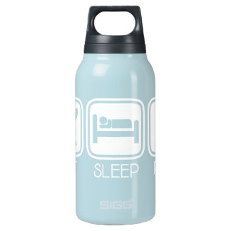 Eat Sleep Pray Insulated Water Bottle