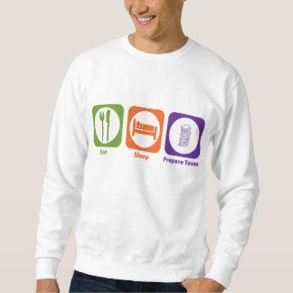 Eat Sleep Prepare Taxes Sweatshirt
