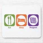 Eat Sleep Program Mouse Pad