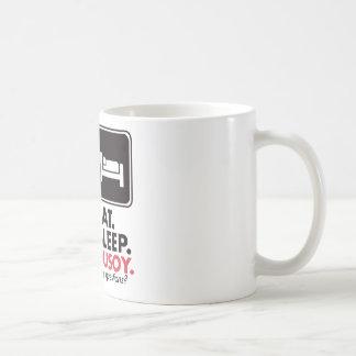 Eat Sleep Pusoy Coffee Mug