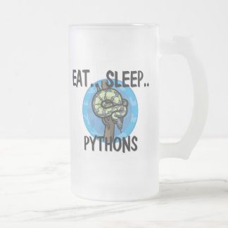 Eat Sleep PYTHONS Mugs