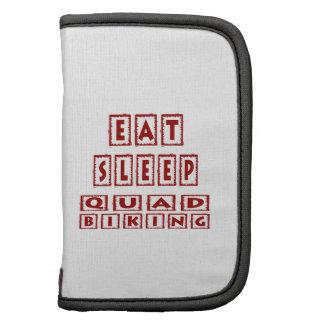 Eat Sleep Quad Biking Folio Planners