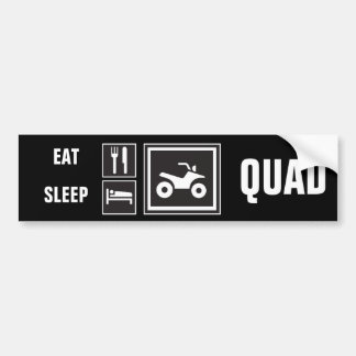 Eat Sleep QUAD! Bumper Sticker