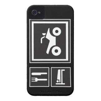 Eat Sleep QUAD! Case-Mate iPhone 4 Case
