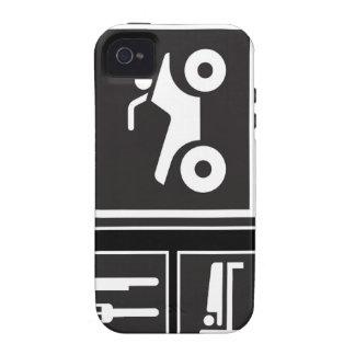 Eat Sleep QUAD! Case-Mate iPhone 4 Cases