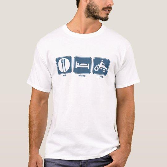 eat sleep quad T-Shirt