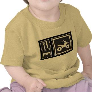 Eat Sleep QUAD! Tee Shirts