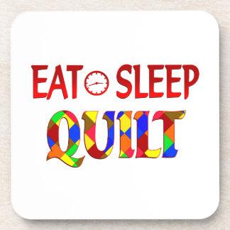 Eat Sleep Quilt Drink Coaster