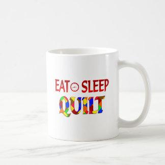 Eat Sleep Quilt Mugs
