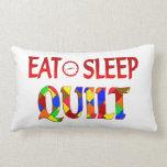 Eat Sleep Quilt Pillow