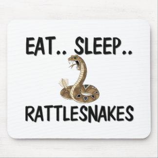 Eat Sleep RATTLESNAKES Mouse Pad