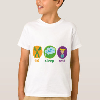 Eat Sleep Read Booklover Girl Gift T-Shirt