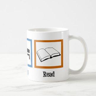 Eat Sleep Read Coffee Mug