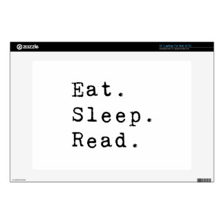 Eat. Sleep. Read. Decal For Laptop