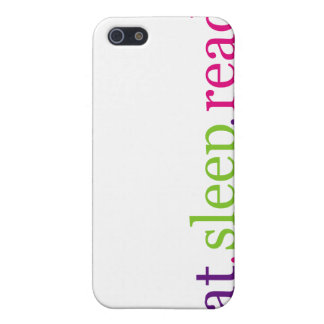Eat, Sleep, READ - I Know My Priorities iPhone 5/5S Covers