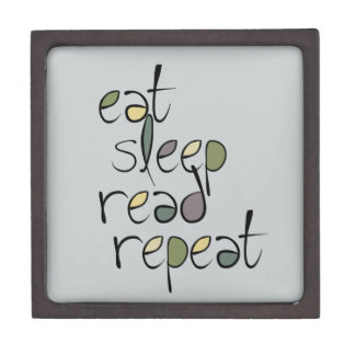 Eat, Sleep, Read, Repeat Gift Box