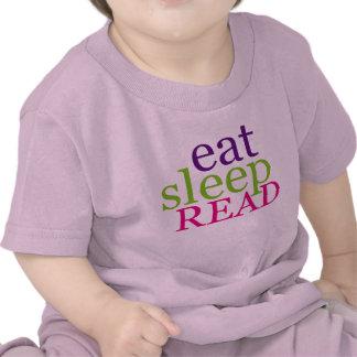 Eat, Sleep, READ - Retro Tshirts