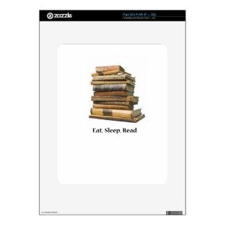 Eat Sleep Read Skin For The iPad