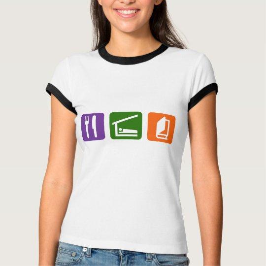 Eat Sleep Reading 2 T-Shirt