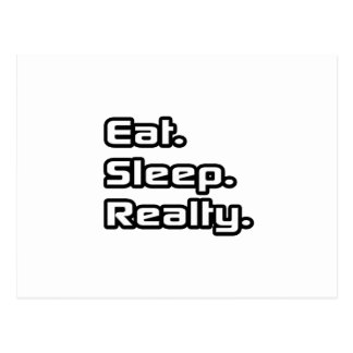 Eat. Sleep. Realty. Postcards